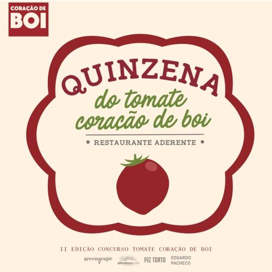 Selo Quinzena Tomate Coração de Boi - Restaurante Aderente