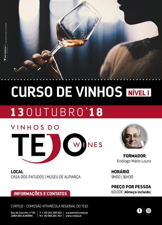 CVRTejo - Curso de Vinhos (do Tejo) - Nível I